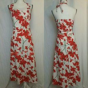 Halter Style Maxi Dress